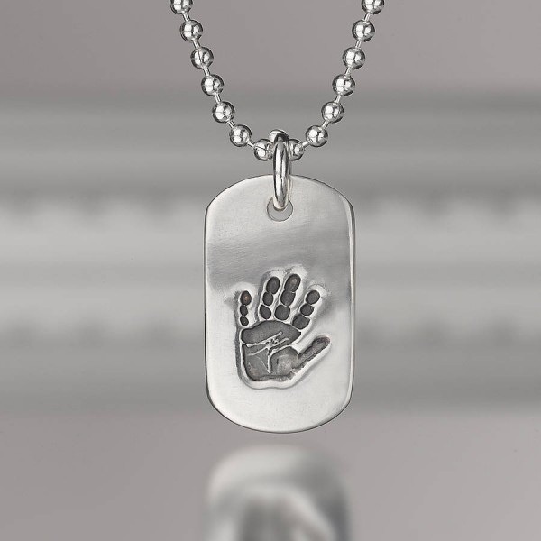 Personalised Print Dog Tag - Crafted By Birthstone Design™
