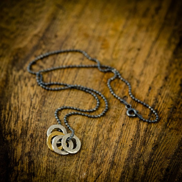 Mens Family Eternity Necklace - Crafted By Birthstone Design™