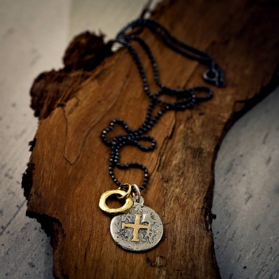 Mens Pieces Of Eight Pirate Necklace - Crafted By Birthstone Design™