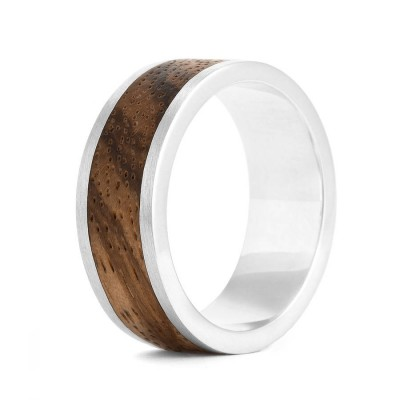 Wood Ring Native Chunk - Crafted By Birthstone Design™