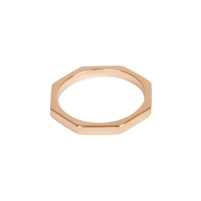 Octagon Bolt Ring - Crafted By Birthstone Design™