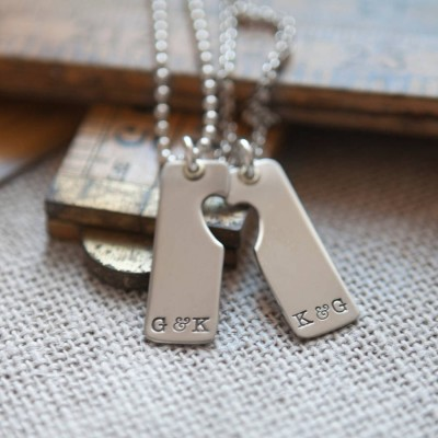 A Pair Necklace - Crafted By Birthstone Design™