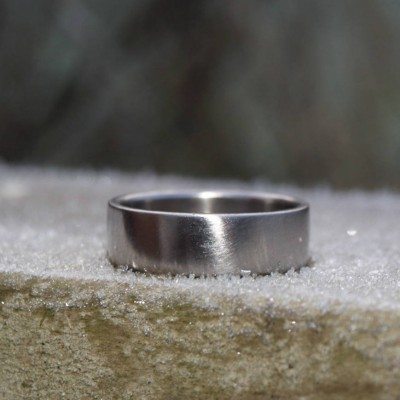 18ct Gold Wedding Band - Crafted By Birthstone Design™
