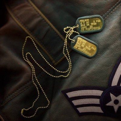Personalised Brass Dog Tag Necklace - Crafted By Birthstone Design™