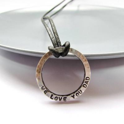 Personalised Daddy Necklace - Crafted By Birthstone Design™