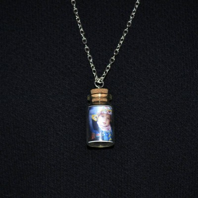 Photo Bottle Charm Necklace - Crafted By Birthstone Design™