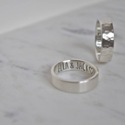 Silver Secret Message Ring - Crafted By Birthstone Design™