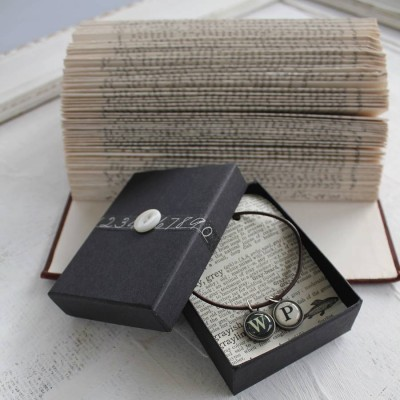 Personalised Vintage Letter Necklace - Crafted By Birthstone Design™