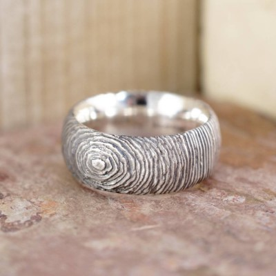 Silver Slate Ring - Crafted By Birthstone Design™