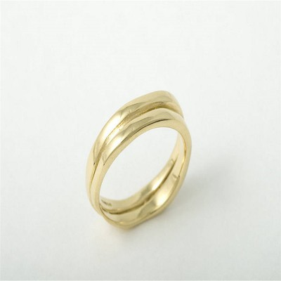 18ct Gold Wedding Ring - Crafted By Birthstone Design™