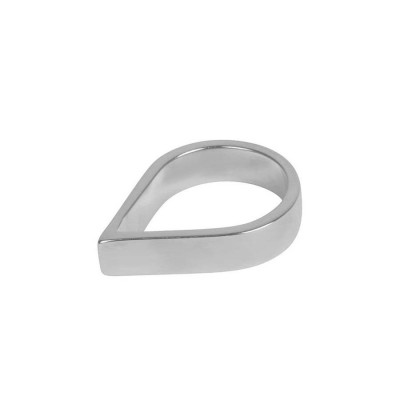 Sterling Silver Wide Point Ring - Crafted By Birthstone Design™